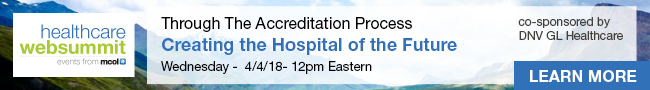 Creating the Hospital of the Future Through The Accreditation Process | 4/4 at 12PM