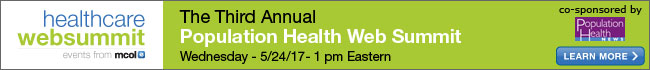 Third Annual Population Health Web Summit 2017
