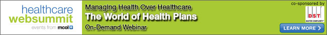 The World of Health Plans– Managing Health Over Healthcare