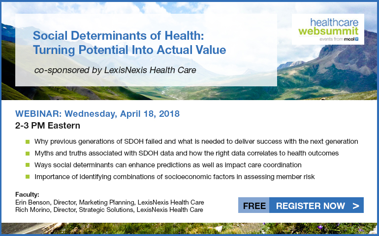 Social Determinants of Health: Turning Potential Into Actual Value