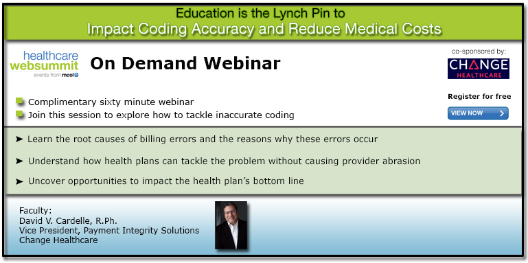 Education is the Lynch Pin to Impact Coding Accuracy and Reduce Medical Costs