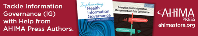 Tackle Information Governance (IG) with Help from AHIMA Press Authors